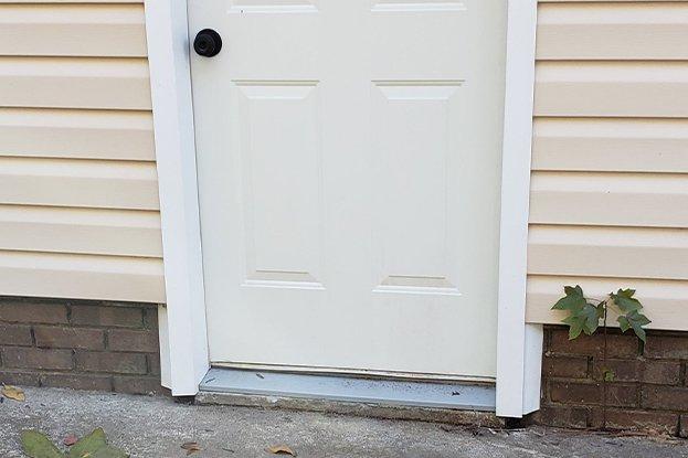 door after image