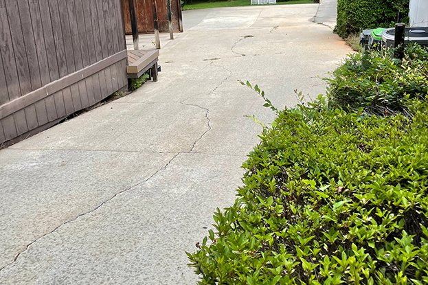 driveway after image